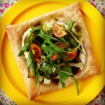 mediterranean vegetable tarts