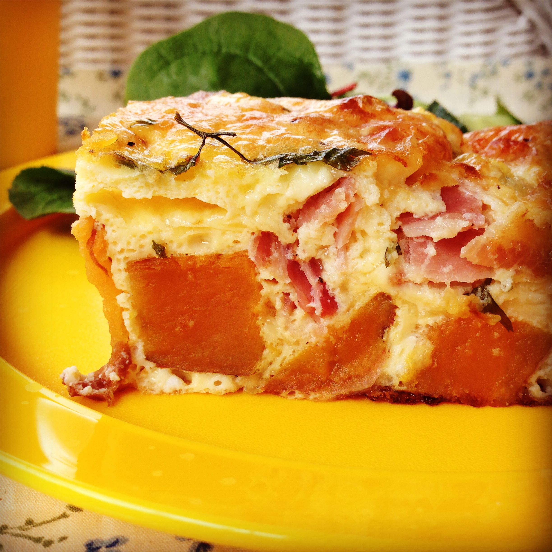 sweet potato & feta frittata | my lovely little lunch box