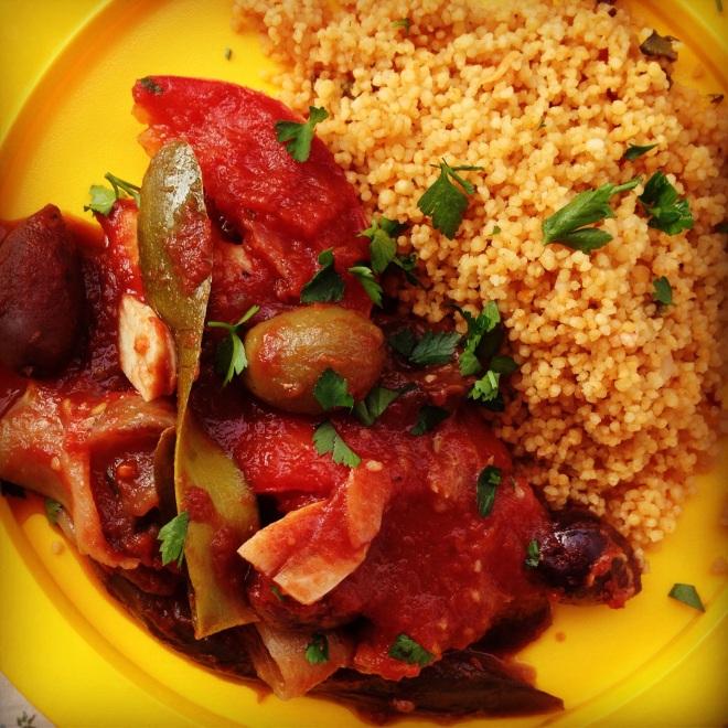 mediterranean chicken bake | my lovely little lunch box