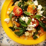roast pumpkin & feta couscous salad