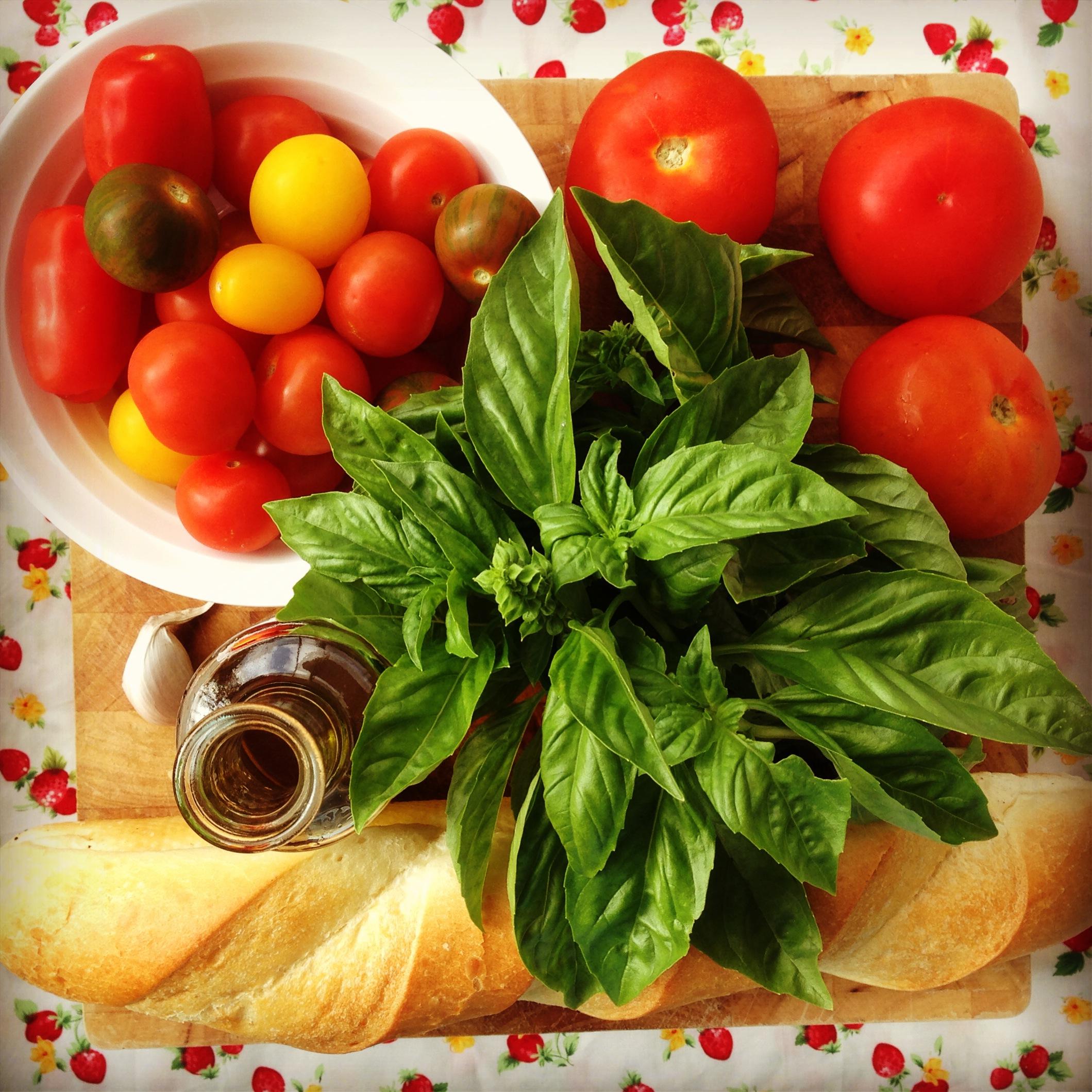 italian tomato & bread salad   my lovely little lunch box