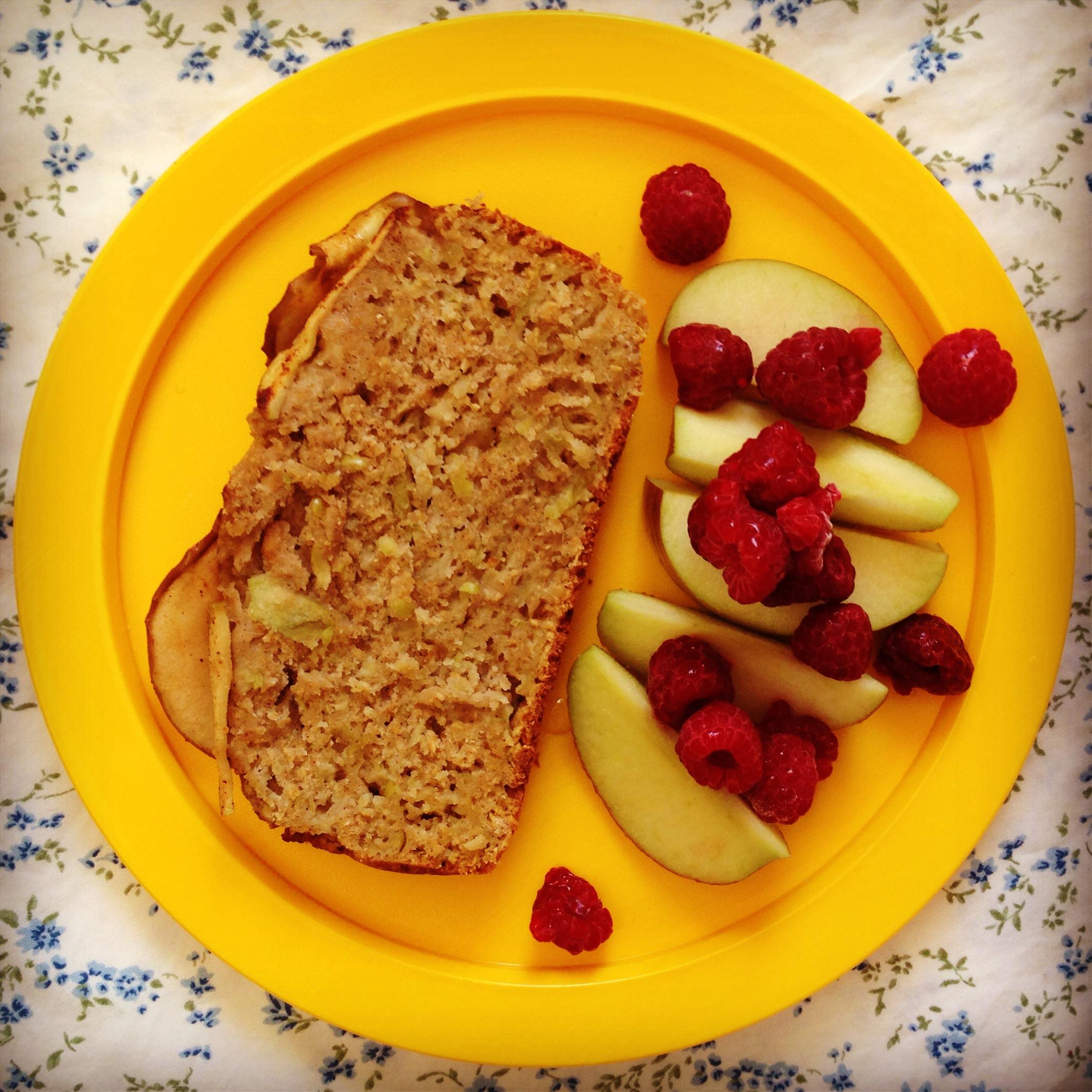 wholesome apple & cinnamon breakfast bread | my lovely ...