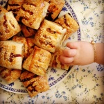 turkey cranberry & sage sausage rolls