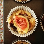 fig & coconut muffins