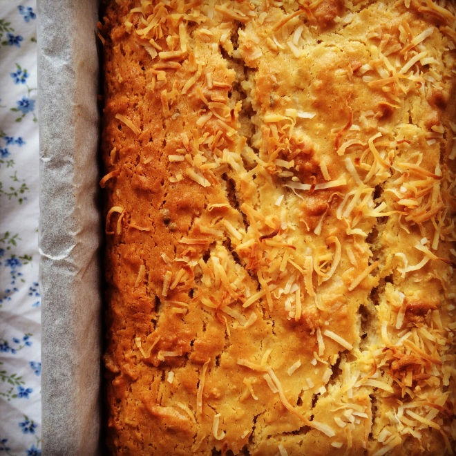 lime & coconut loaf