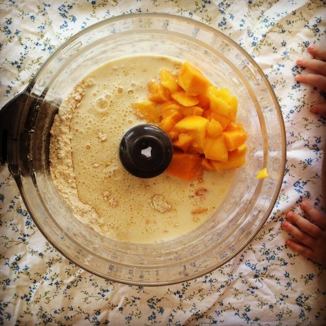 mango coconut scones